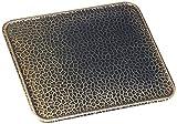 Kaminoflam Ofenblech Altmessing - Bodenblech für Kaminofen  - Funkenschutzplatte Kamin - Kaminblech Boden - Kaminbodenplatte für Ofen - Kaminplatte Funkenschutz