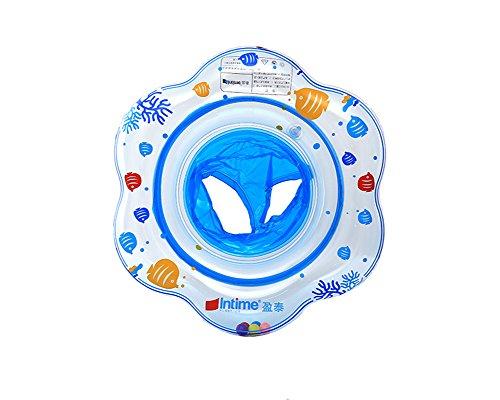 Uclever bambino seggiolino gonfiabile sicurezza piscina galleggiante anello di nuotata (blu)