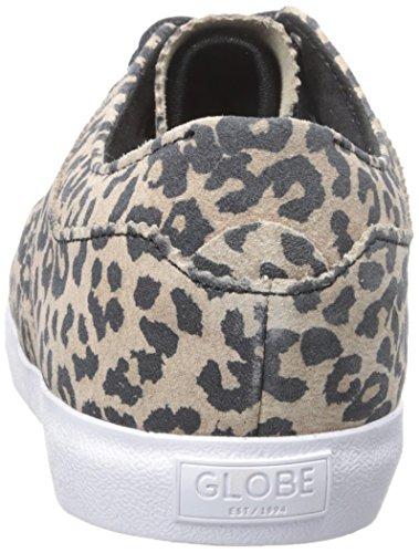 Globe The Taurus Daim Baskets Leopard-White
