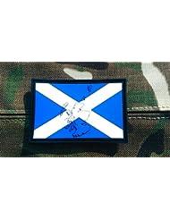 Patch Nation - Parche de velcro, diseño de la bandera de Escocia