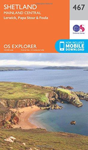 os-explorer-map-467-shetland-mainland-central