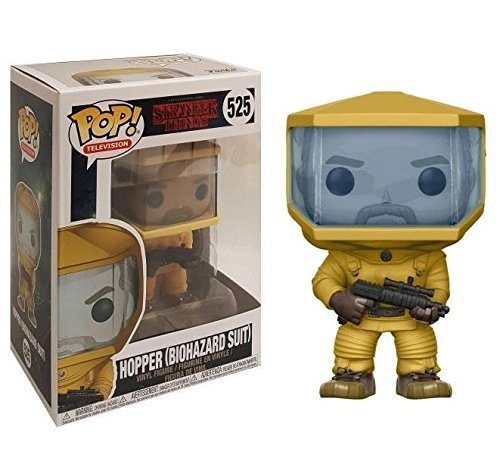 Funko Pop Hopper con traje de riesgo biológico (Stranger Things 525) Funko Pop Stranger Things