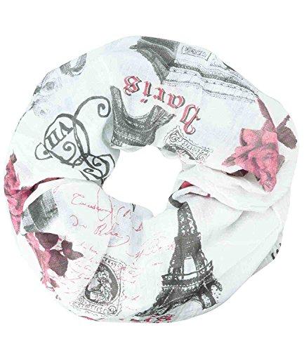 Caripe Loop-Schal Städte-Print P...