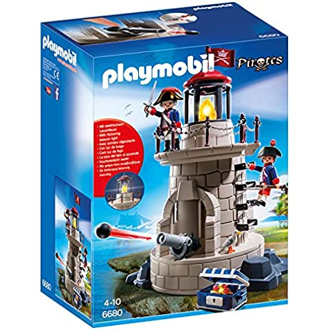 Playmobil - Faro con soldados (66800)