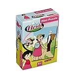 Mini-Puzzle Heidi 54-teilig von Studio 100; Motiv Heidi und Großvater
