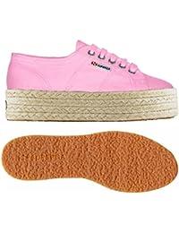 SUPERGA zapatillas de deporte de la plataforma de los zapatos bajos S009TC0 340 2790 LAMEW talla 35 Platinum U3iMz