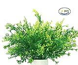 YGSAT Künstlicher Kunst-Kunststoff, Kunstpflanze, Weizengras, Pflanze Eukalyptus, Gras, Grünpflanzen, Kunstpflanze, Dekoration für den Innenbereich, 4 Stück