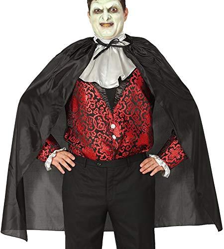 Guirca Schwarze schicht 100 cms - Halloween, Capas (De Disfraz Vampira Halloween)