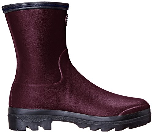 Le Chameau Giverny Low Donna Wellington Boots Cherry