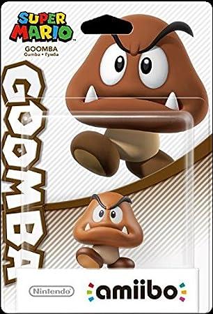Nintendo - Colección Super Mario, Figurina Amiibo Goomba