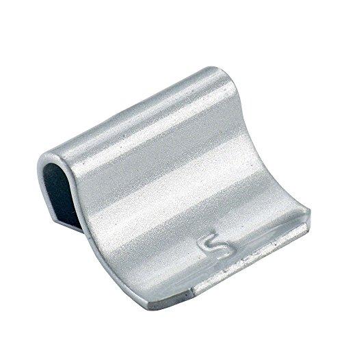 PERFECT EQUIPMENT 50x Schlaggewichte Alu Felgen PKW Typ63 35g Silber Wuchtgewichte Reifenwechsel Auswuchtgewichte Alu Ausgleichsgewicht