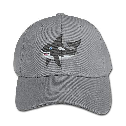 1d80d84545d Asegy Cute Killer Whale Pure Color Baseball Cap Cotton Adjustable Kid Boys  Girls Hat
