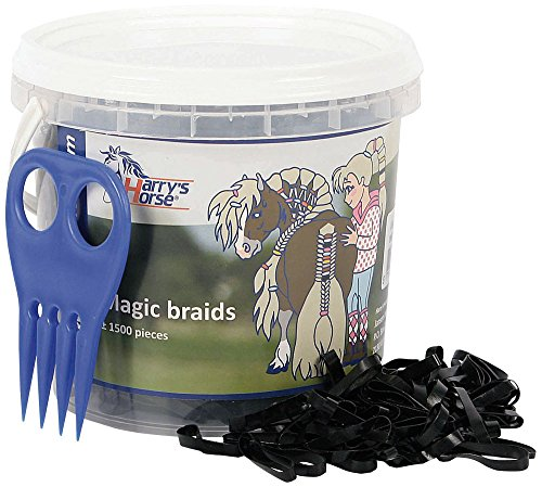 Harry's Horse 36000203-05 Magic Braids Eimer, schwarz