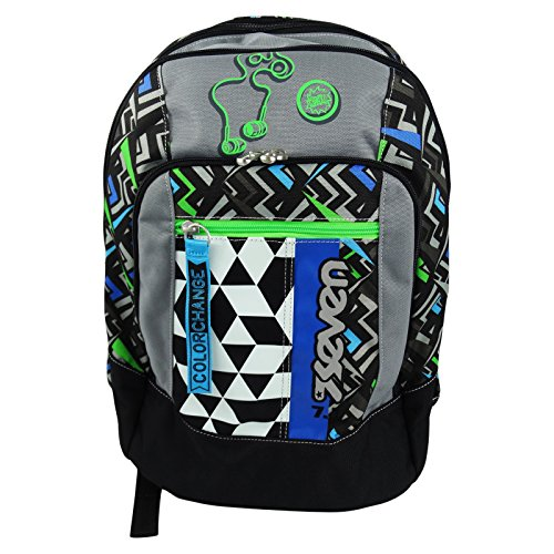 Seven-Widget-Blue-Backpack-Daypack-Travel-Bag-Freetime-Black