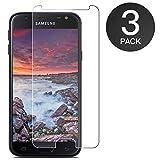 Zloer [3 pièces] Verre Trempé Samsung Galaxy J3 2017, Film Protection en Verre...