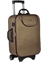5adb18b42cd Trekker Polyester Matty 62 cms Brown Softsided Check In Bag (TTB-TREAT24-BR