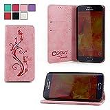 COOVY Étui pour Samsung Galaxy S6 Edge SM-G925F SM-G925 Coque, boîte de Carte de...