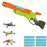 X-Shot - Bug attack rifle eliminator con 8 dardos y 3 insectos (Colorbaby 44201)