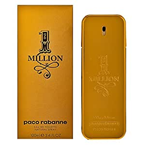 Paco Rabanne 1 Million Eau de Toilette, Uomo, 100 ml