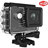 SJCAM SJ5000 WIFI Action Ultra HD Waterproof Underwater Large Screen Wide Angle Sports DV Camcorder, 14MP (Black)