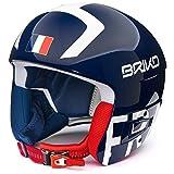 Briko - Helm VULCANO FIS 6.8 - FRANCE für mann und frau - 901 - SHINY BLUE - 56