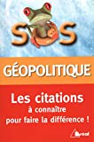 Citations de géopolitique