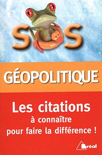 Citations de géopolitique