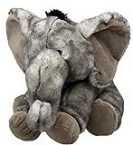 Inware 7559 - Kuscheltier Elefant Oddi, sitzend, 15 cm