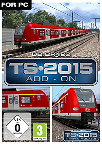 Train Simulator 2015 - DB BR423 EMU [PC Code -