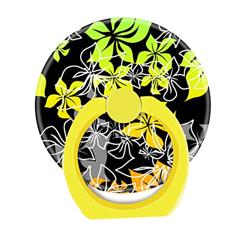 Handy-Ringhalter, 360 Grad drehbar, mit Halterungshaken für Smartphones und Tablets, Dancing Hibiscus Hawaiian Flower - Diamant-ring Dancing