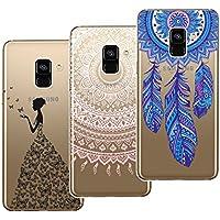 Yokata [3 Packs] Samsung Galaxy A8 2018 Hülle Transparent Weiche Silikon Handyhülle Schutzhülle TPU Handy Bumper... preisvergleich bei billige-tabletten.eu