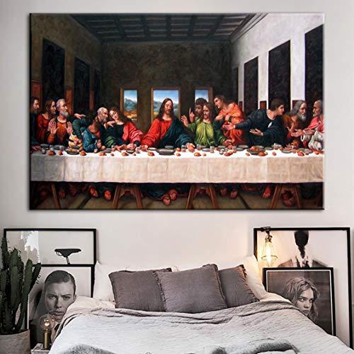 Danjiao Decoración Del Hogar De La Lona Arte De La
