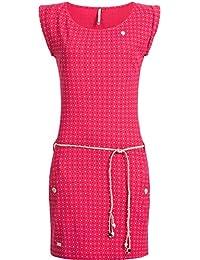 Ragwear Damen Baumwoll Jersey-Kleid Tag Dots 11 Farben XS-XL