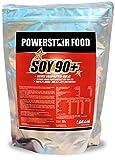 SOJA PROTEIN ISOLAT, SOY 90+, unvergleichlich hervorragender Geschmack, 100% vegan, instantisiert, gentechnisch unverändert und frei von pflanzlichen Östrogenen. Pulver (Erdbeer-Sahne, 1000 g Beutel)