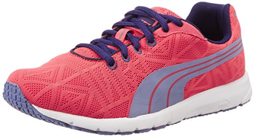 Puma Boy's Narita V2 Jr Cayenne and Bleached Denim Mesh Sports Shoes - 11C UK  available at amazon for Rs.1701