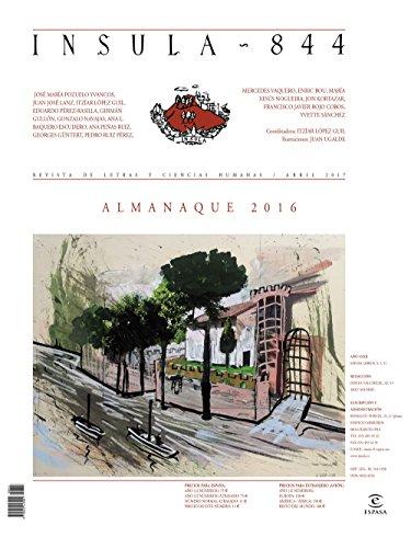 Almanaque 2016 (Ínsula n° 844, abril de 2017) (Almanaques) por AA. VV.