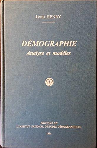 Démographie : Analyse et modèles