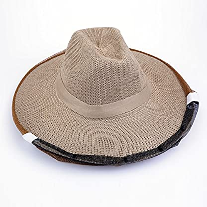 Farm & Ranch Beekeeping Cowboy Hat Mosquito Bee Insect Net Veil Head Face beekeeper equipments 5