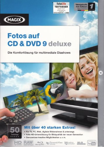MAGIX Fotos auf CD & DVD 9 deluxe (Minibox)