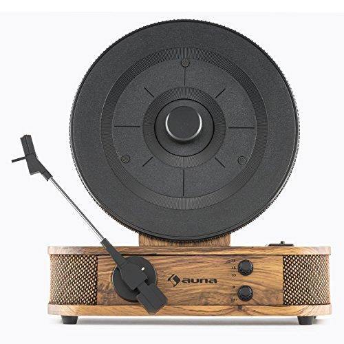 auna Verticalo S - Platine Vinyle , Platine Verticale , Design rétro , Transmission par Courroie ,...