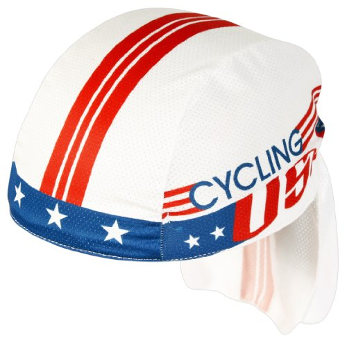 Pace Sportswear Coolmax Cycling Usa Skull Cap by Pace Coolmax-skull-cap