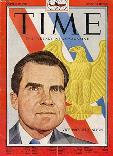 time-newsmagazine-vol-lxvi-n-15-oct-1955-contents-vice-president-nixon-cover-higways-ohio-express-by