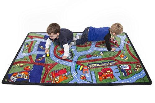 Learning Carpets Alfombra educativa Carreteras y Caminos CPR 454