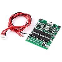 4Series 30A 14,8V BMS PCB Tarjeta de Protección con Equilibrio para 18650 Li-ion Batería Junta de Protección con Cable para Batería de Litio