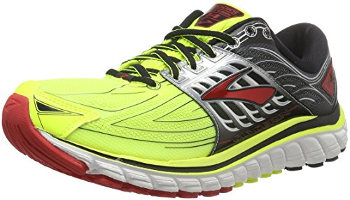 Brooks Glycerin 14, Scarpe Running Uomo, giallo (NightLife/Black/HighRiskRed), 41 EU