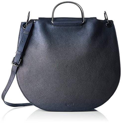 BREE Damen Cordoba 3 S17 Tote, Blau (Blue Metallic), One Size (3 Tasche Tote)