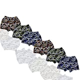 #8: Zombie Cotton Kid's Boys Boxer Military Trunk6550(Pack Of 6)_Assorted Colors