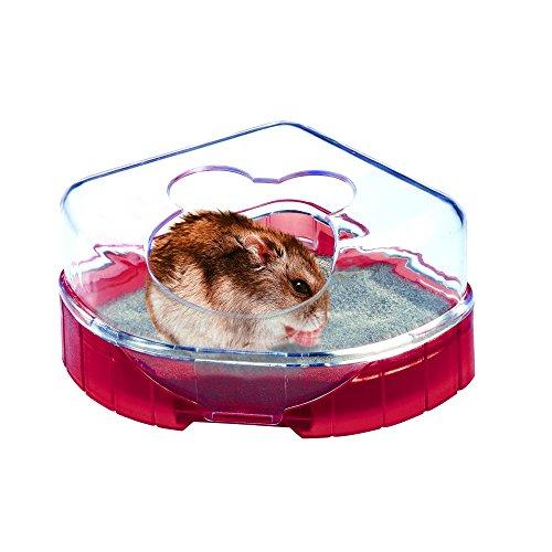 Zolux Toilettenhäuschen RodyLounge für Hamster und Nager rot
