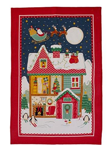 Ulster Weavers Santa Leinen Geschirrtuch, multicolor (Mascaras Del Santo)