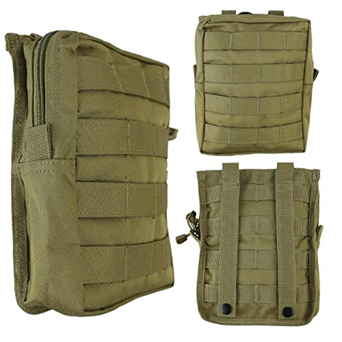 Combat Large Molle Utility Pouch Airsoft Army Military Style Airsoft Pouch